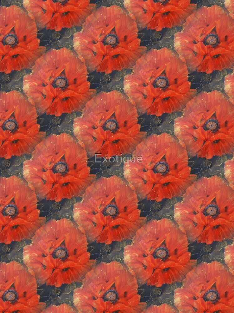 POPPIES by Exotique