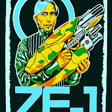 Zorg and the ZF-1 by PavelPepin