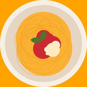 Spaghetti, Tomato, Parmesan & Basil by kennethbicocchi