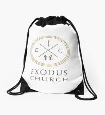 Exodus Seal - dark letters Drawstring Bag