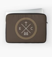 Exodus Seal  - White Lettering Laptop Sleeve