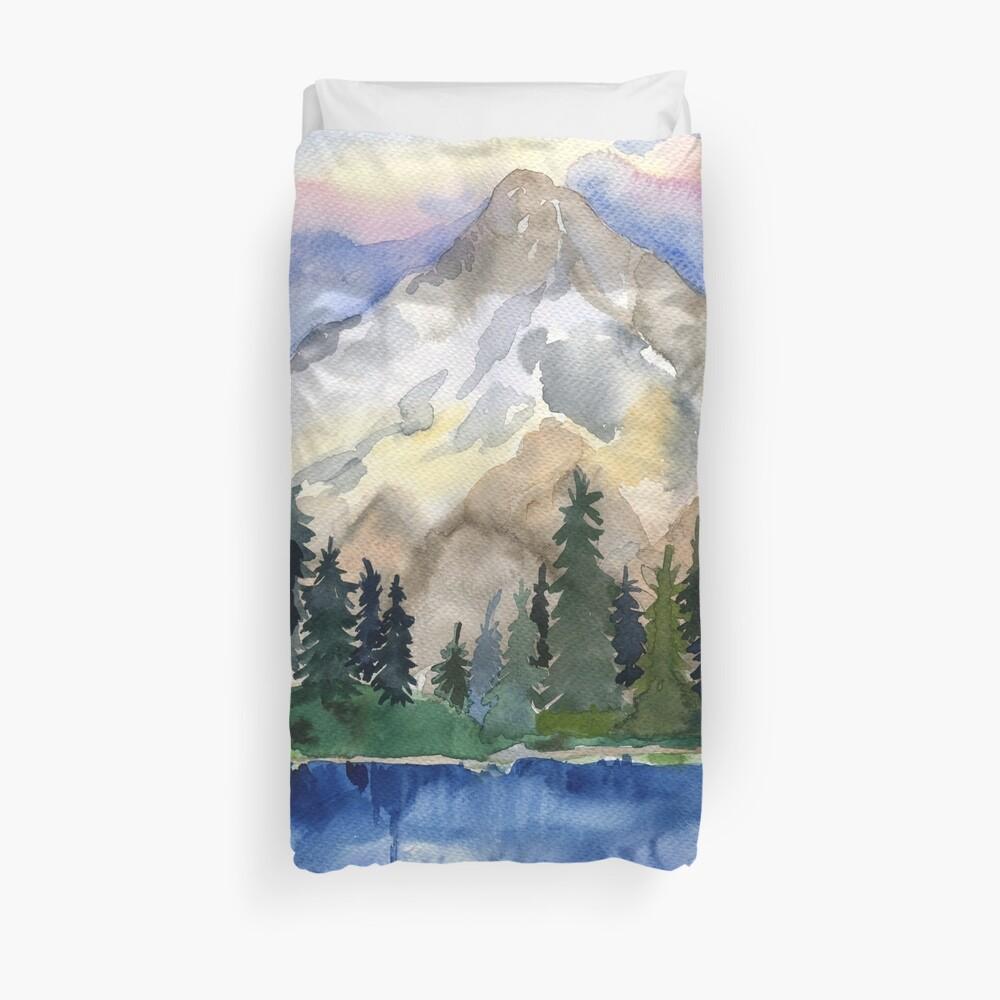 Berglandschaft Bettbezug