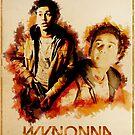 Wynonna Earp - Western Style Cast Poster #16 - Jeremy Chetri by Chantal Zeegers