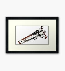 Colonial Viper Framed Print