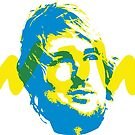 Owen Wilson Says Wow - Blue by WowApparel