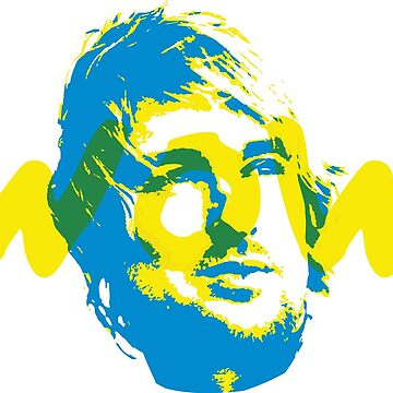 Owen Wilson Says Wow - Blue by WowApparel