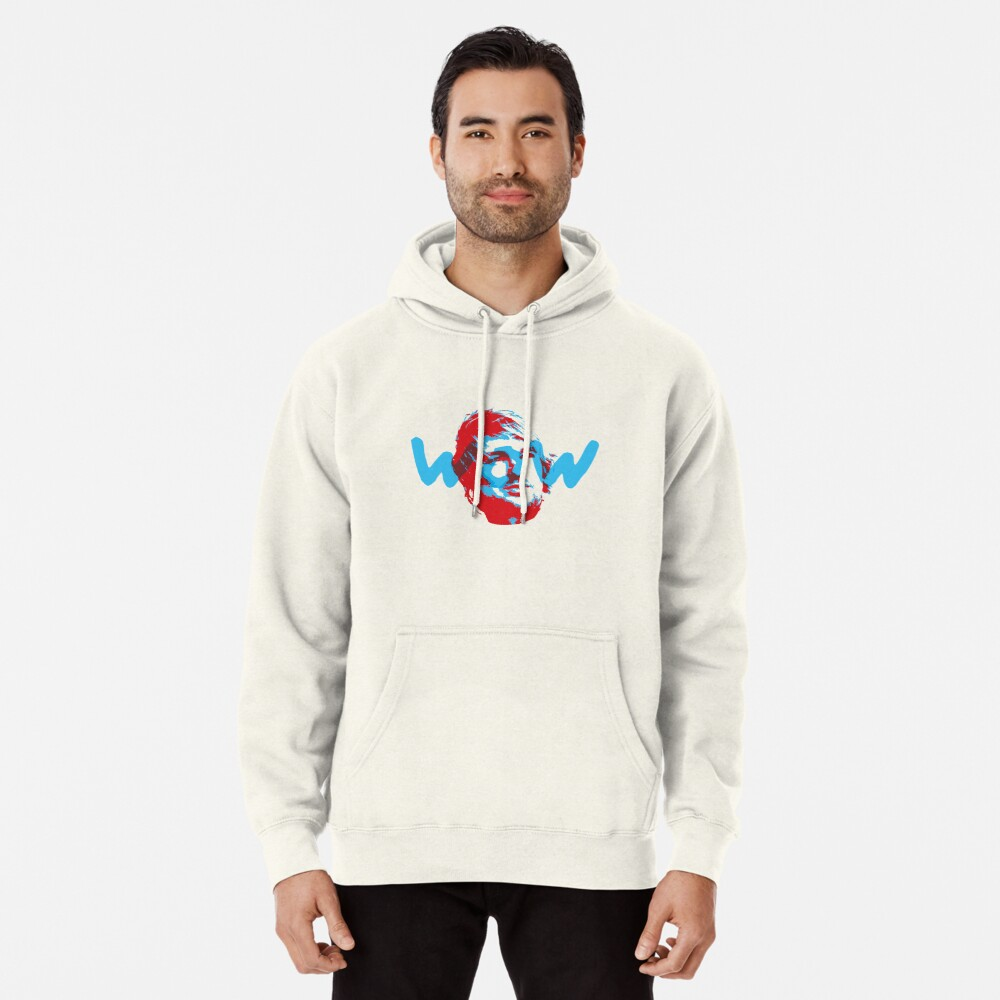 Owen Wilson Says Wow - Red Pullover Hoodie