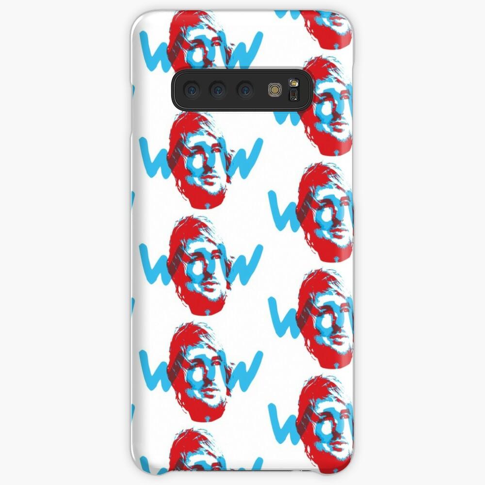 Owen Wilson Says Wow - Red Case & Skin for Samsung Galaxy