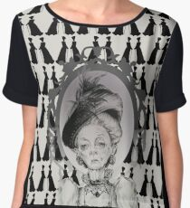 The Dowager Countess Chiffon Top