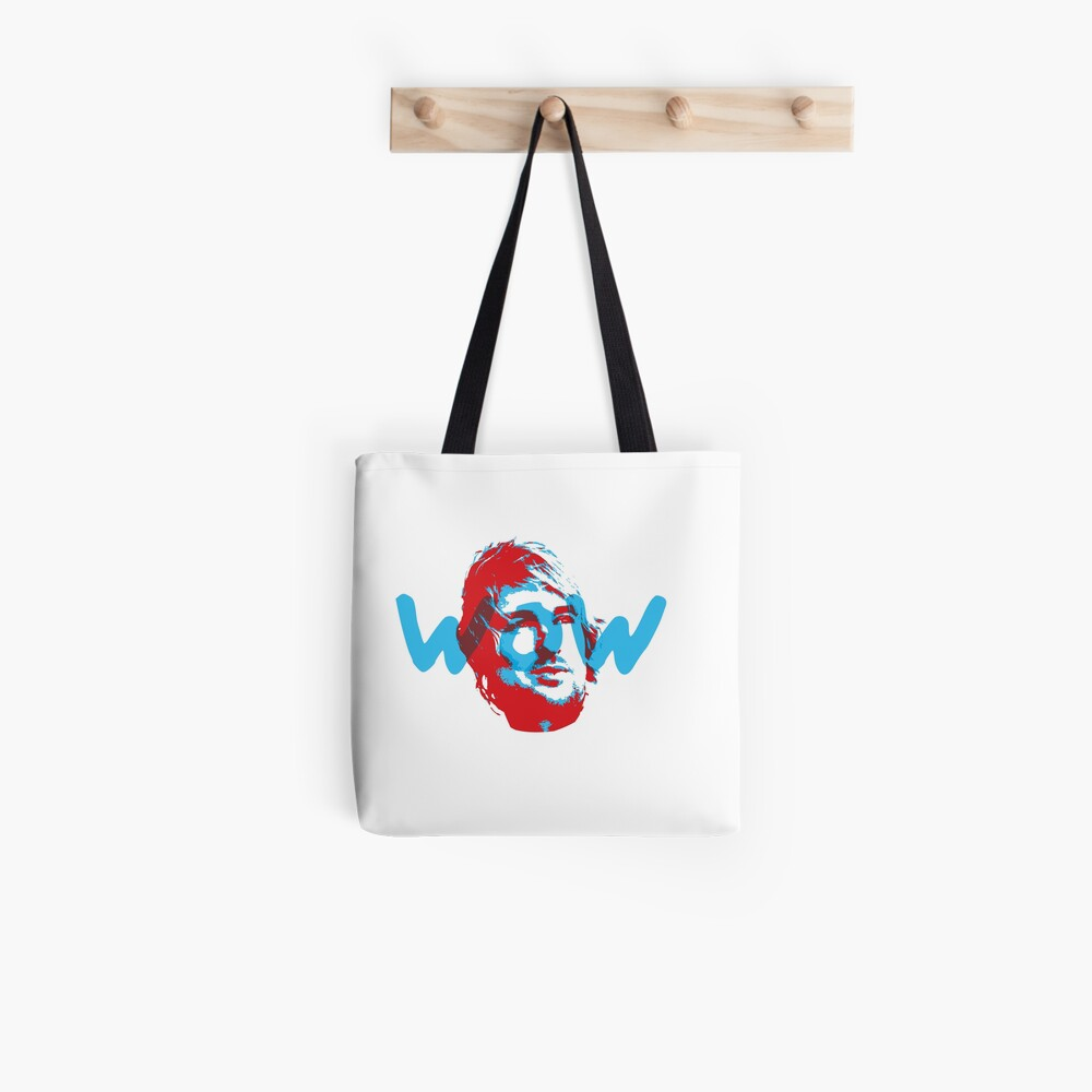 Owen Wilson Says Wow - Red Tote Bag