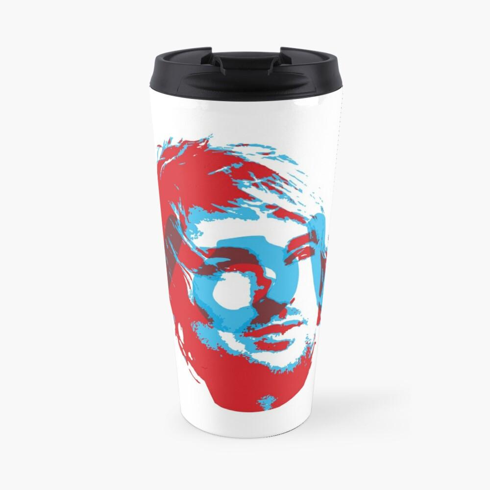 Owen Wilson Says Wow - Red Travel Mug
