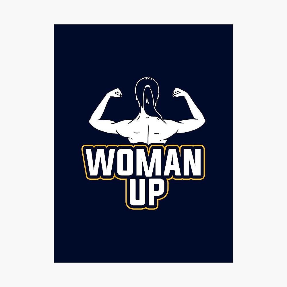 Frau, Feministin Fotodruck