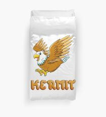 Kermit Eagle Sticker Duvet Cover