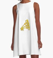 Borderlands Golden Keys A-Line Dress