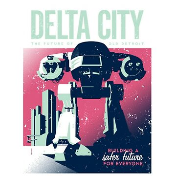 ED 209 Delta City by richturner81