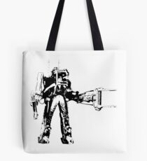 Ripley Power Loader B&W Tote Bag