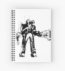 Ripley Power Loader B&W Spiral Notebook