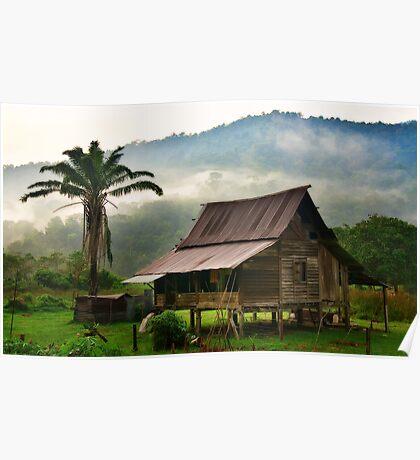 Malay Kampong Poster
