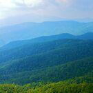 Blue Ridge Mountains by mrthink