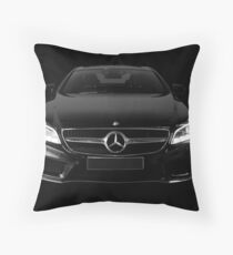 Mercedes Benz AMG CLS 63 S Coupe 2018 Black Front Throw Pillow