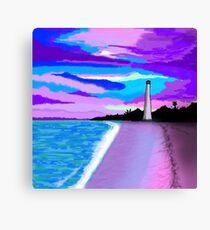 Lighthouse Beach Canvas Print