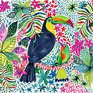 Toucan in the Jungle by Janet Broxon