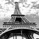 travel wanderlust black white french paris eiffel tower by lfang77