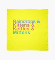 Raindrops and Kittens and Kettles and Mittens Scarf