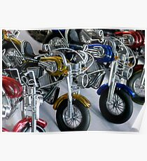 Mega Bikes Poster