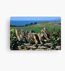 Stone Walls........... Canvas Print