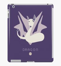 Pokemon Type - Dragon iPad Case/Skin