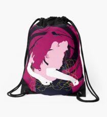 dancing girl Drawstring Bag