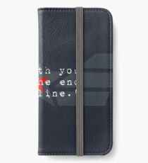 Cap & Bucky  iPhone Wallet/Case/Skin