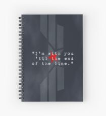 Cap & Bucky  Spiral Notebook