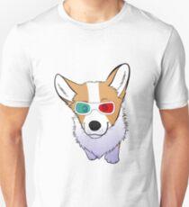 3D corgi Unisex T-Shirt