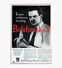 Lámina fotográfica ¿Están sus bolcheviques criando el servicio?