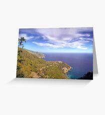 Five Lands National Park - Landscape Greeting Card
