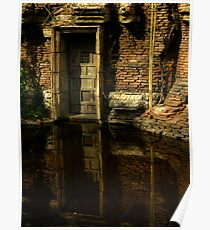 Flooded Temple Poster