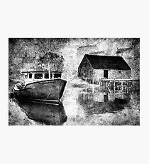 Harbour Mist Photographic Print