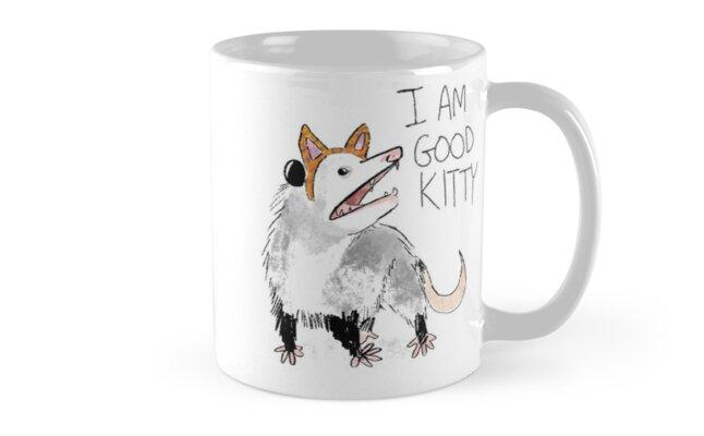 """I AM GOOD KITTY"" Design by Lindsay Scanlan"
