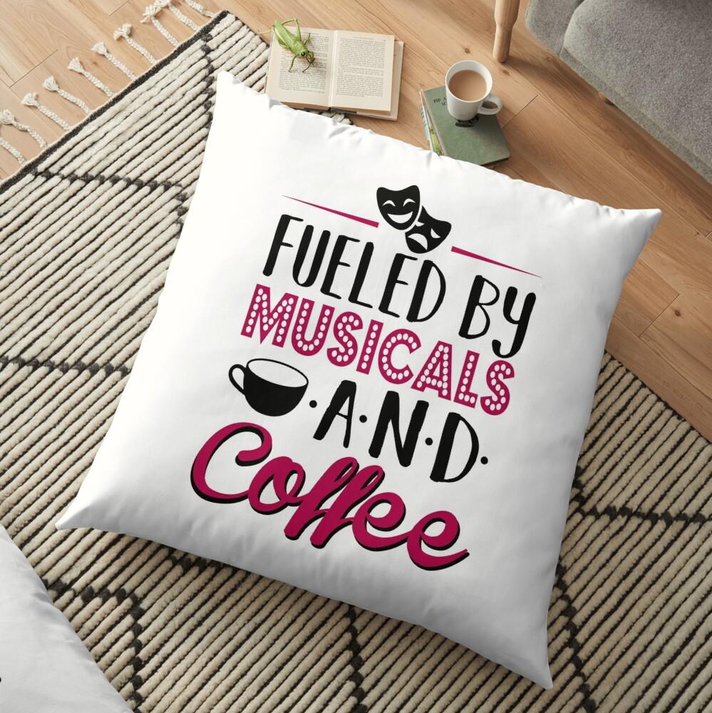 Impulsado por musicales y café Cojines de suelo