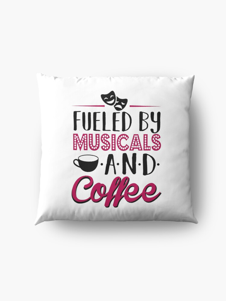 Vista alternativa de Cojines de suelo Impulsado por musicales y café