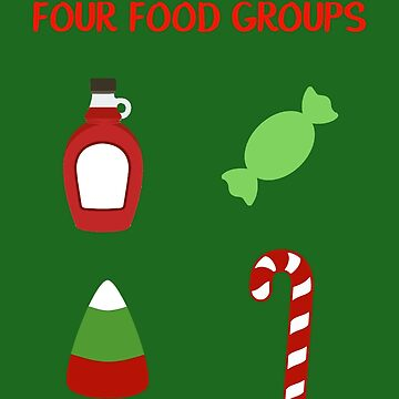 The Four Elf Food Groups by jabberdashery