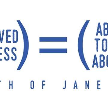Math of Jane Austen by jabberdashery