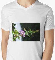 Lavender Lady Passiflora  Mens V-Neck T-Shirt