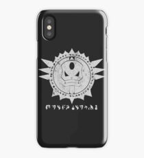 The Barron's order (white) iPhone Case/Skin