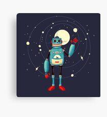 Friendly Robot Canvas Print