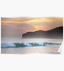 Sunset Costa Esmeralda Poster