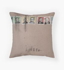 Sieben Throw Pillow