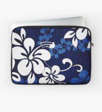 Hawaiian Blue Hibiscus Laptop Sleeve